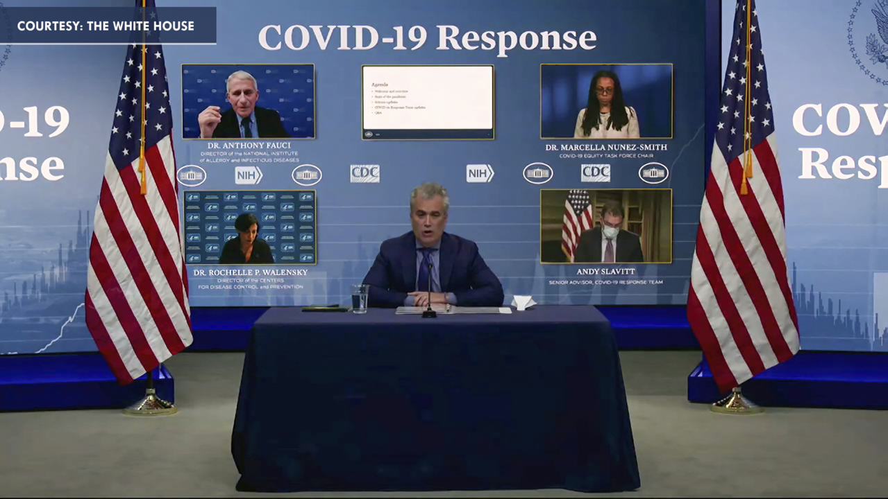 White House COVID-19 Response Team gives update-FBN