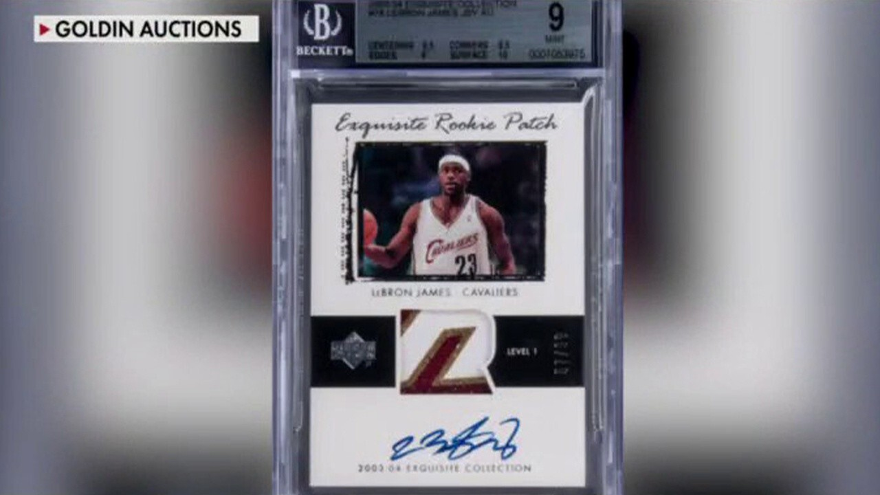 LeBron James rookie card could fetch $2M on auction block