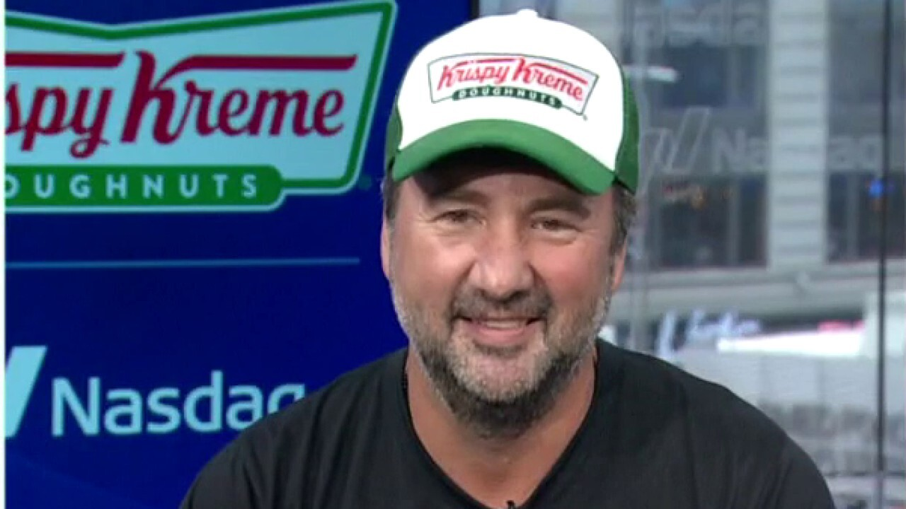 Krispy Kreme CEO and president Mike Tattersfield reflects on the donut giant's first day of public trade.