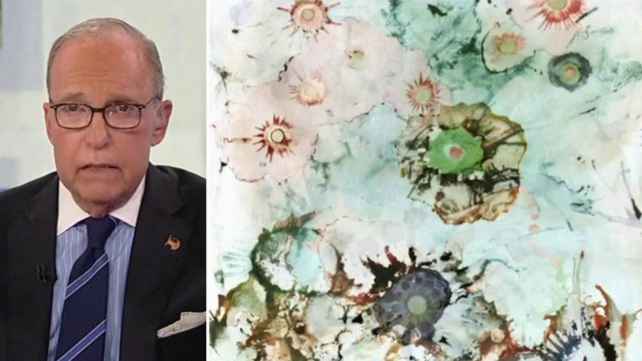 Larry Kudlow blasts Hunter Biden's artwork as 'absolute crap' and 'scam art'