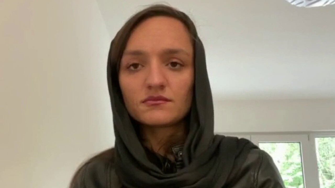 Zarifa Ghafari, a former Afghanistan mayor, says the escape from her country was 'harder than anything anyone can imagine.'