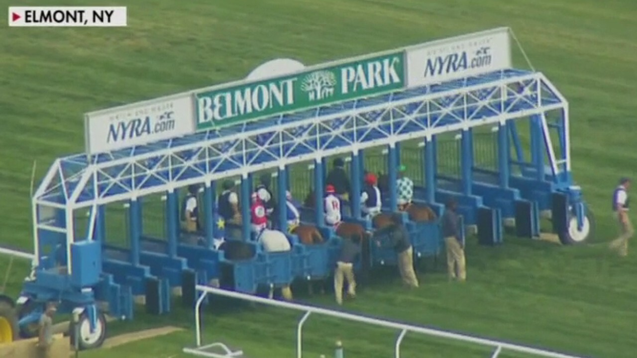 Belmont betting in home stretch ahead of NY horse race