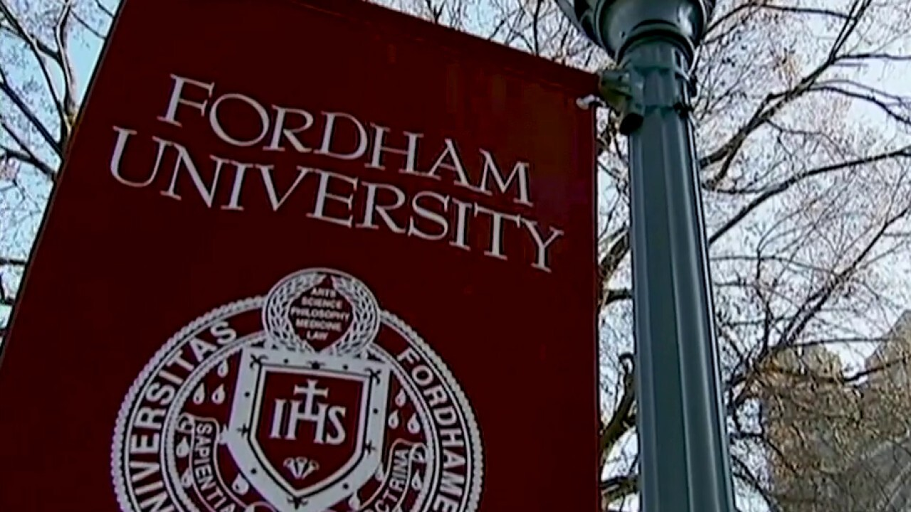 Universities are being challenged to reduce tuition costs as families argue students are not receiving the complete college experience. Fox News correspondent Molly Line reports.