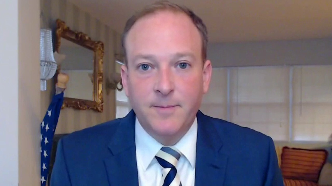 Rep. Lee Zeldin, R-NY, discusses his Democratic colleagues struggling to secure enough votes to pass the $3.5 trillion spending package, arguing the House Democratic Caucus is 'split.'