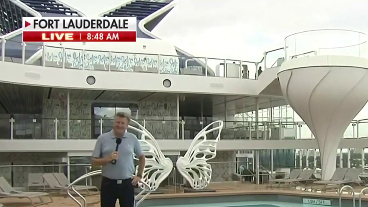 The Celebrity Edge is set to depart from Fort Lauderdale, Florida, this weekend and will be the first cruise ship to leave a U.S. port in 469 days. FOX Business' Ashley Webster with more.