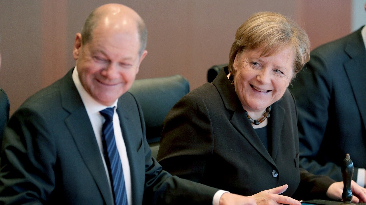 Democratic center-left party defeats Germany's Merkel