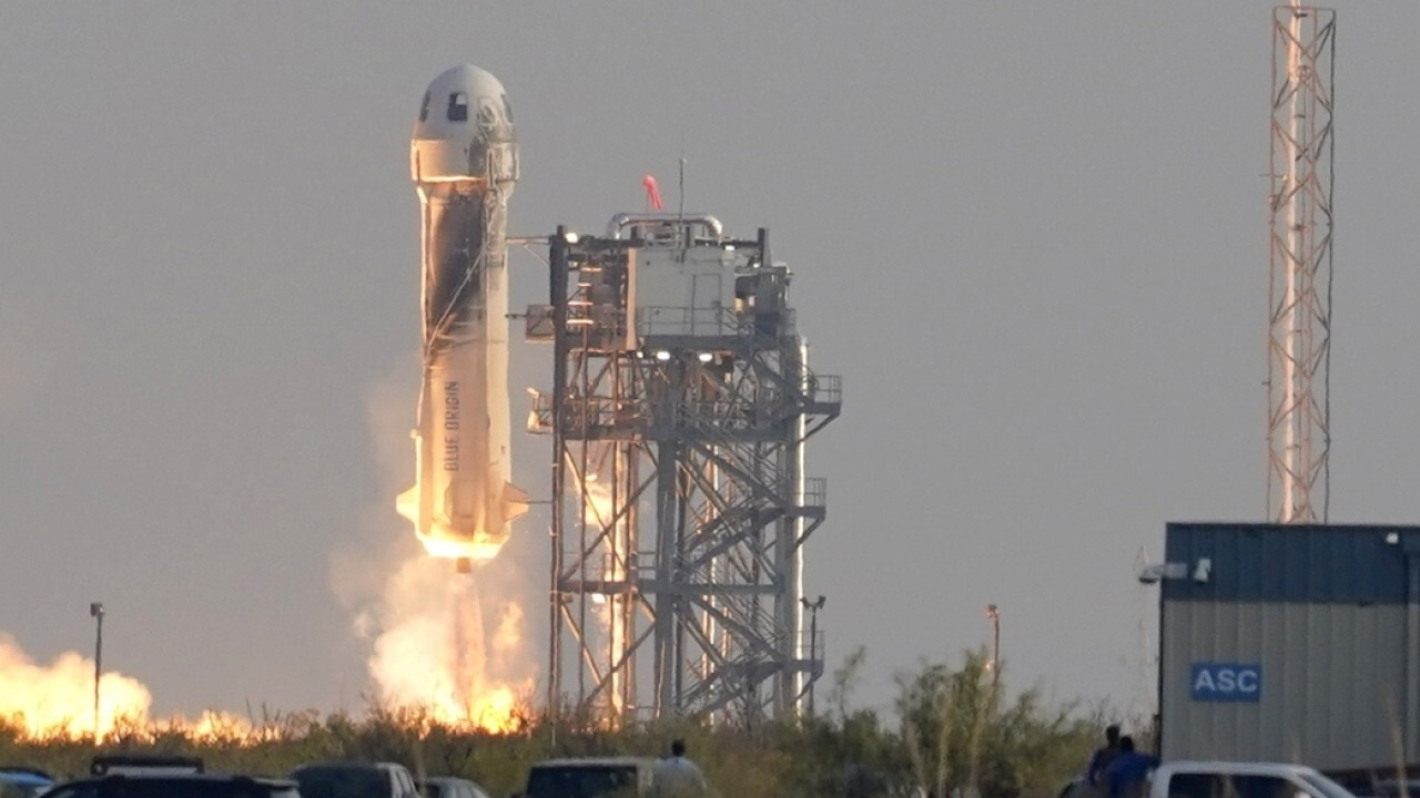 Former astronaut says Bezos' Blue Origin launch much more than tourism