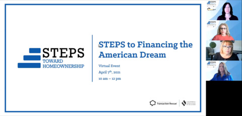 STEPS Toward Homeownership - 4-7-21