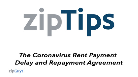 Legal Guide to the Coronavirus Rent Payment Delay and Repayment Agreement (C.A.R. Form RPD)
