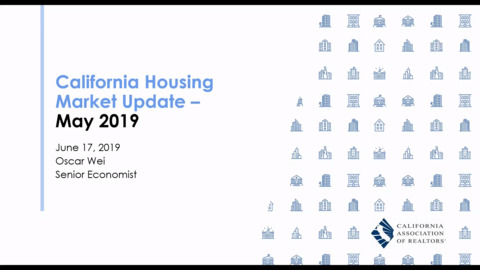 May 2019 Housing Market Update
