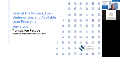 Peek at Process Loan Programs Underwriting and Near Miss Options - 5-5-21