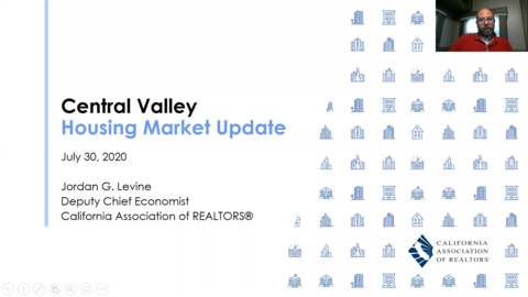 Central Valley Economic & Housing Market Update
