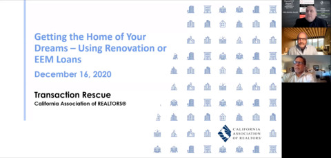 Getting the Home of Your Dreams - Using Renovation and EEM Mortgages - 12-16-20