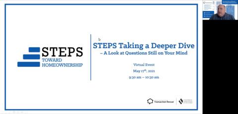 STEPS - Taking a Deeper Dive on Lending - 5-18-21