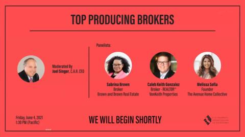 Top Producing Brokers