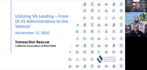 Utilizing VA Lending - From A to V - Admin to Vet
