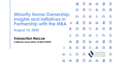 Minority Home Ownership - Insights and Initiatives in Partnership with the MBA