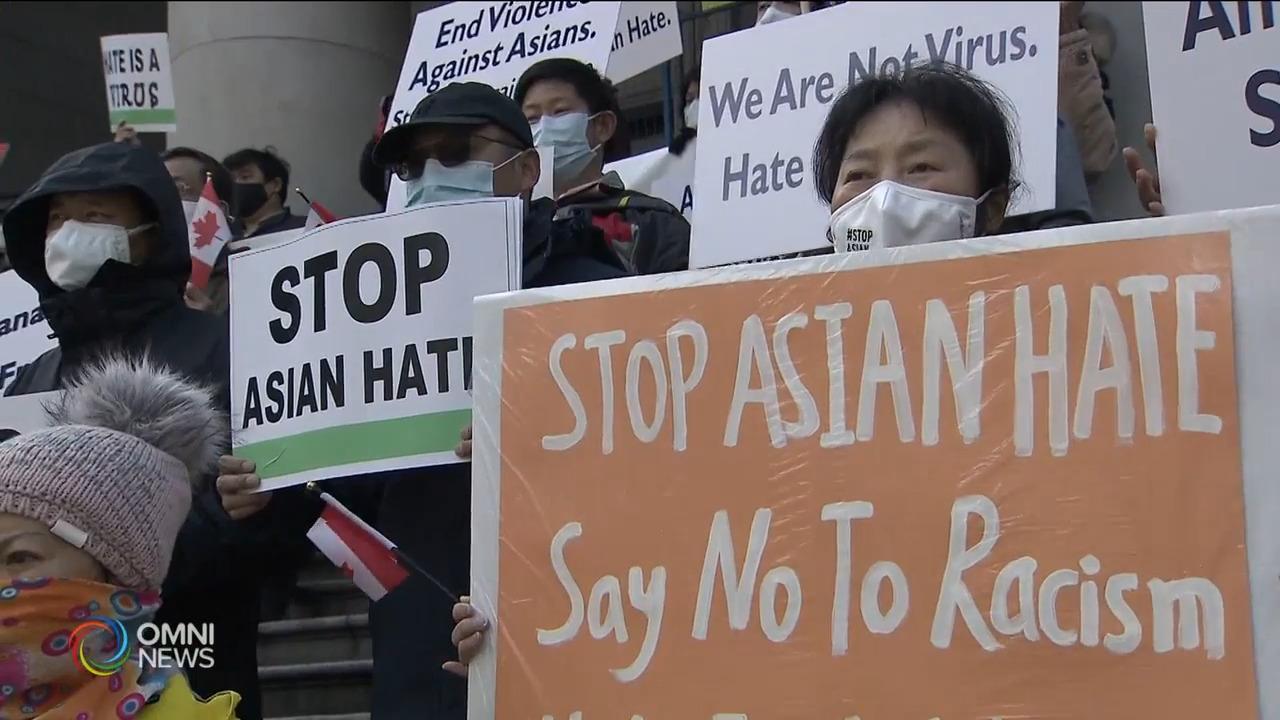 加拿大亚裔反种族歧视联盟宣布成立- Apr 12, 2021