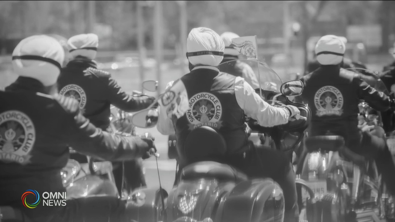 Sikh Motorcycle Club give free rides to frontline workers during the COVID-19 pandemic | OMNI News Punjabi