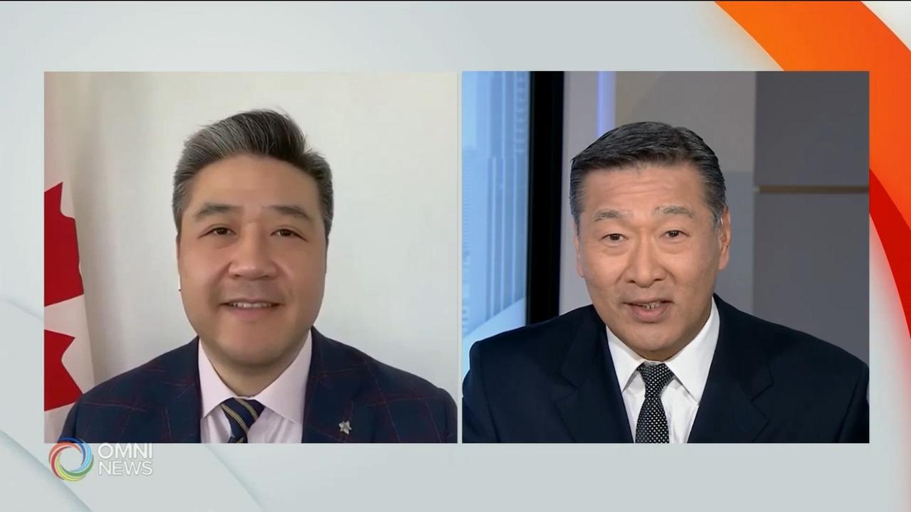 国会议员董晗鹏提出反歧视亚裔动议- Apr 12, 2021