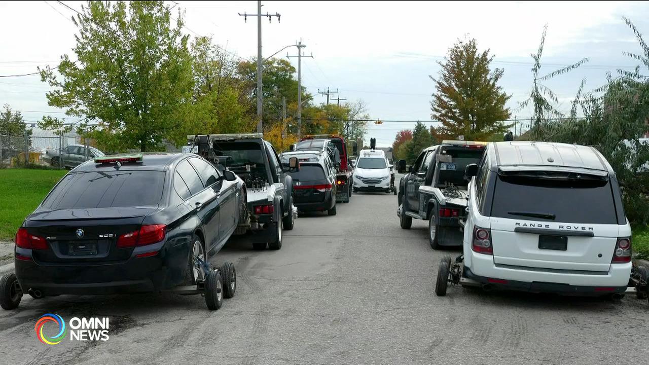約克區警方搗破汽車盗竊集團 — Oct 21, 2021