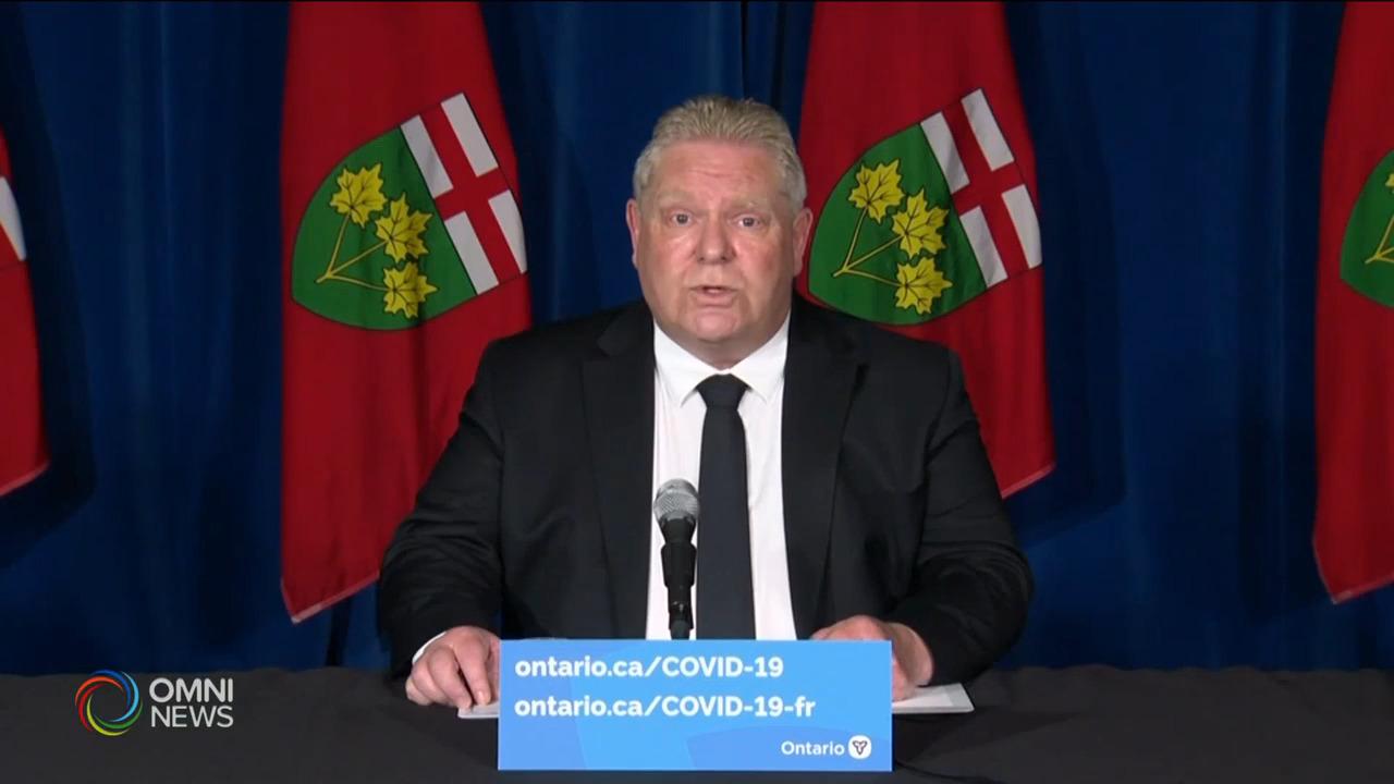 省長頒佈更嚴厲疫情管控措施 — Apr 16, 2021 (ON)