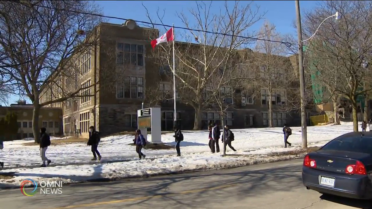 多倫多8所學校出現變種病毒 — Feb 25, 2021 (ON)