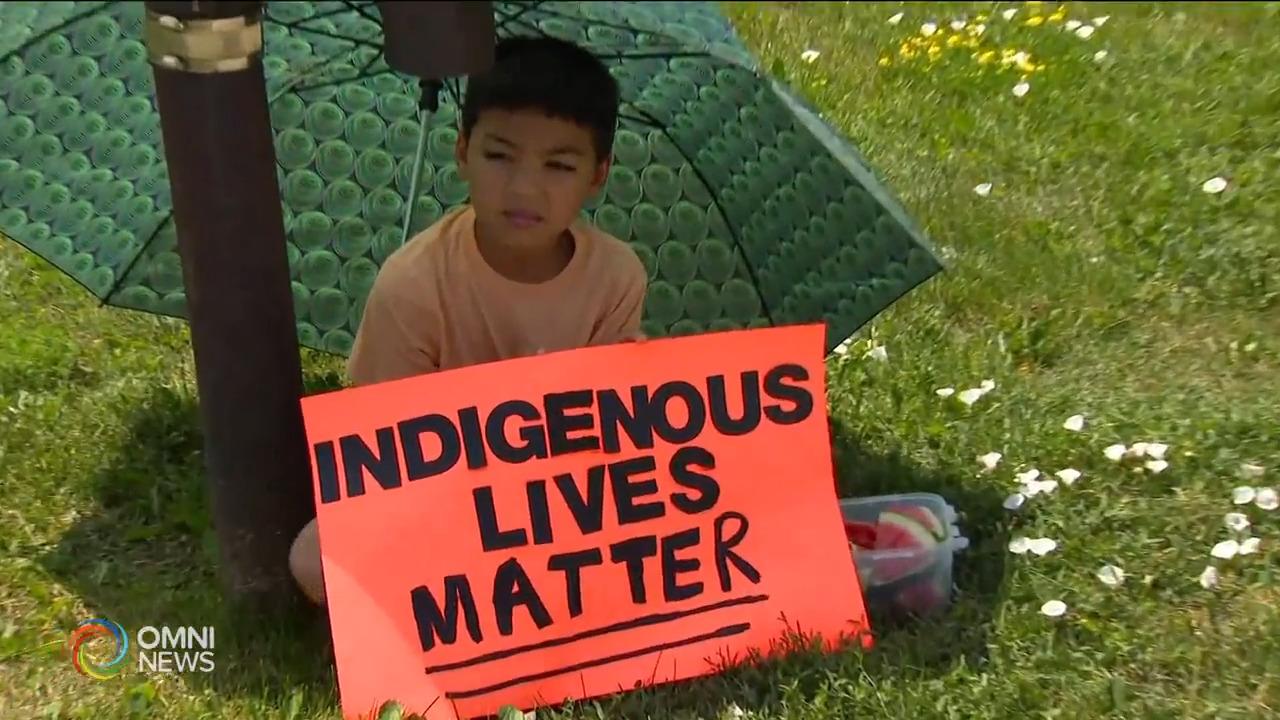 Peel community holds vigil to mourn Indigenous children