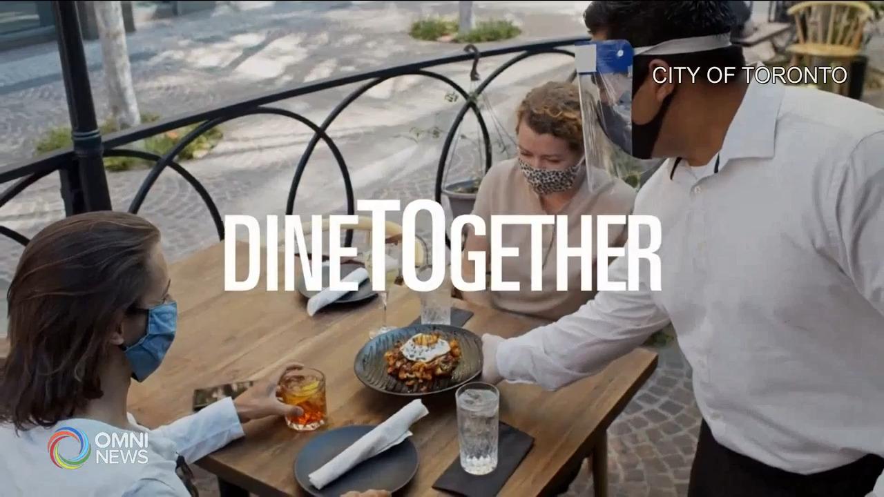 多伦多市DineTOgether餐饮促销活动 - Sep 17, 2021 (ON)