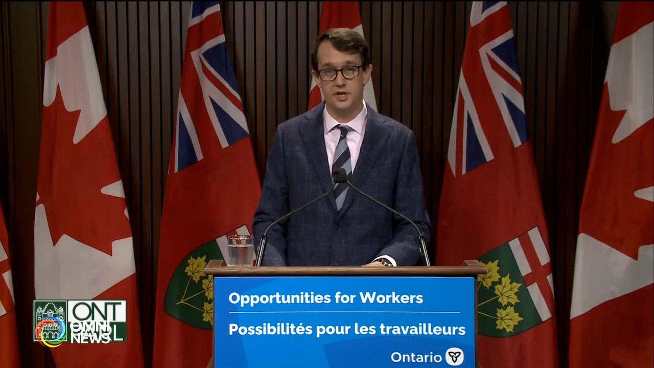 省府立法取消找工時須具加拿大工作经验的要求- Oct 21, 2021 (ON)