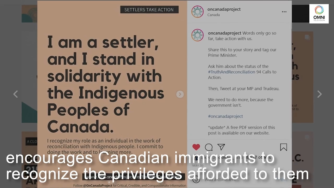 The important role Canadian immigrants play in Indigenous reconciliation | OMNI News