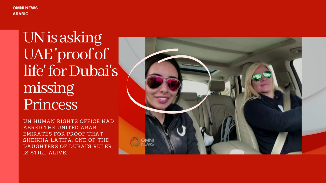 Dubai Princess still missing, UN asks for proof of life