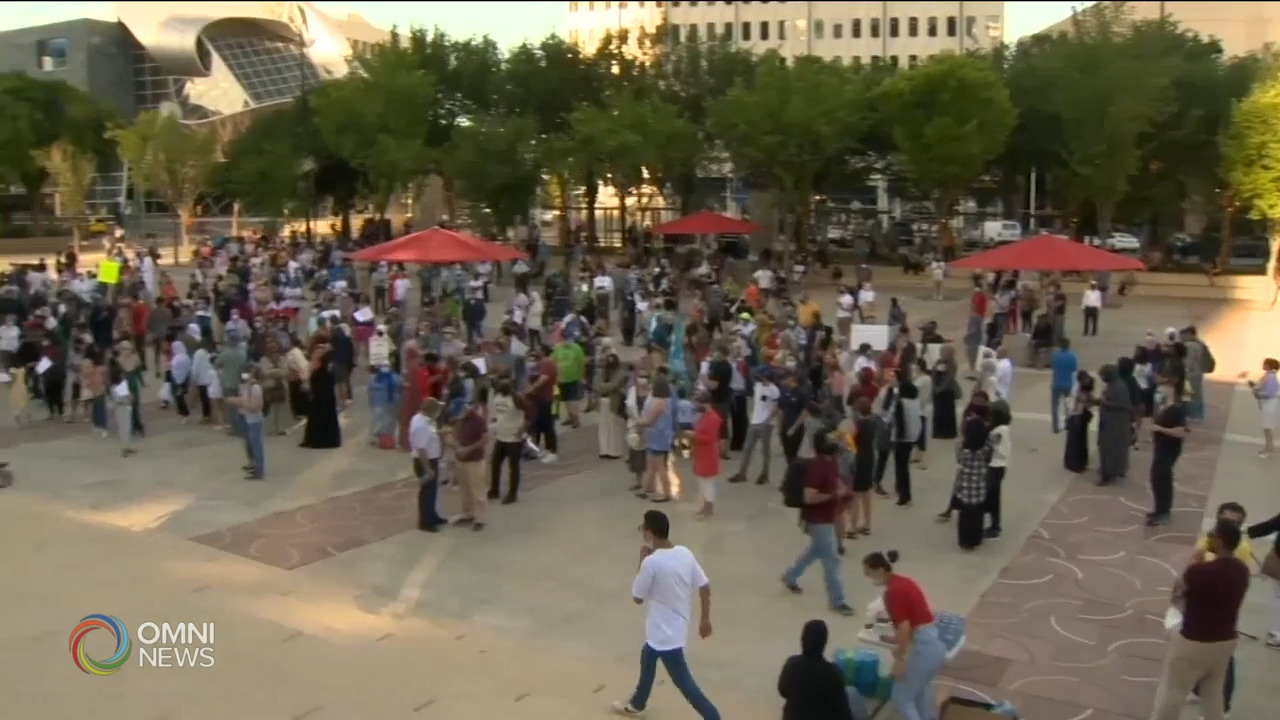 Edmonton rally demands protection for Canadian-Muslims | OMNI News Arabic