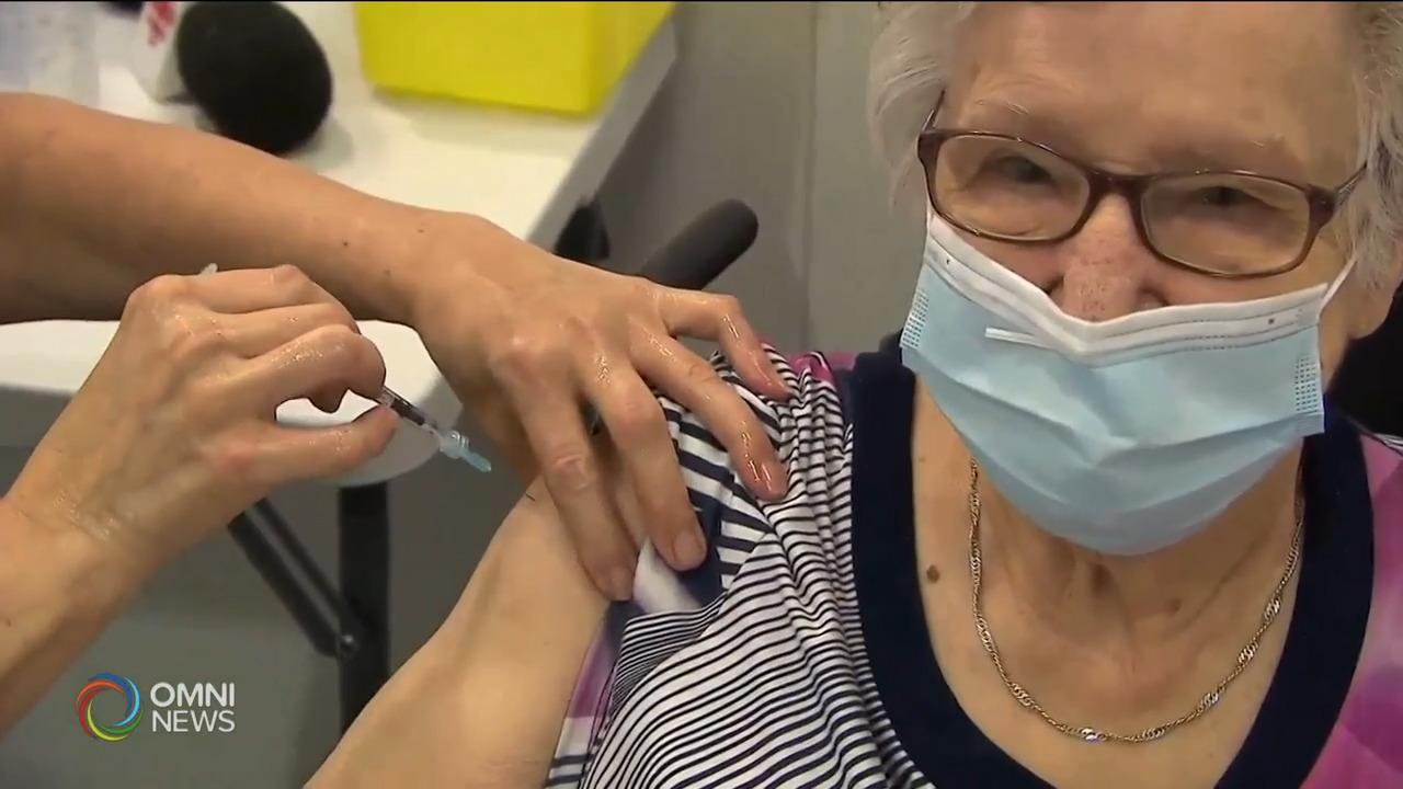 约克区为八十岁以上民众接种新冠疫苗- Mar 01, 2021