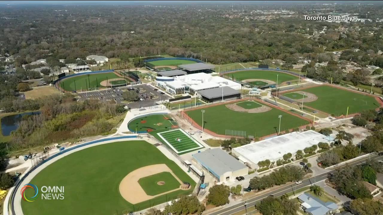 多倫多藍鳥位於美國佛州發展中心正式啟用 — Feb 26, 2021 (ON)