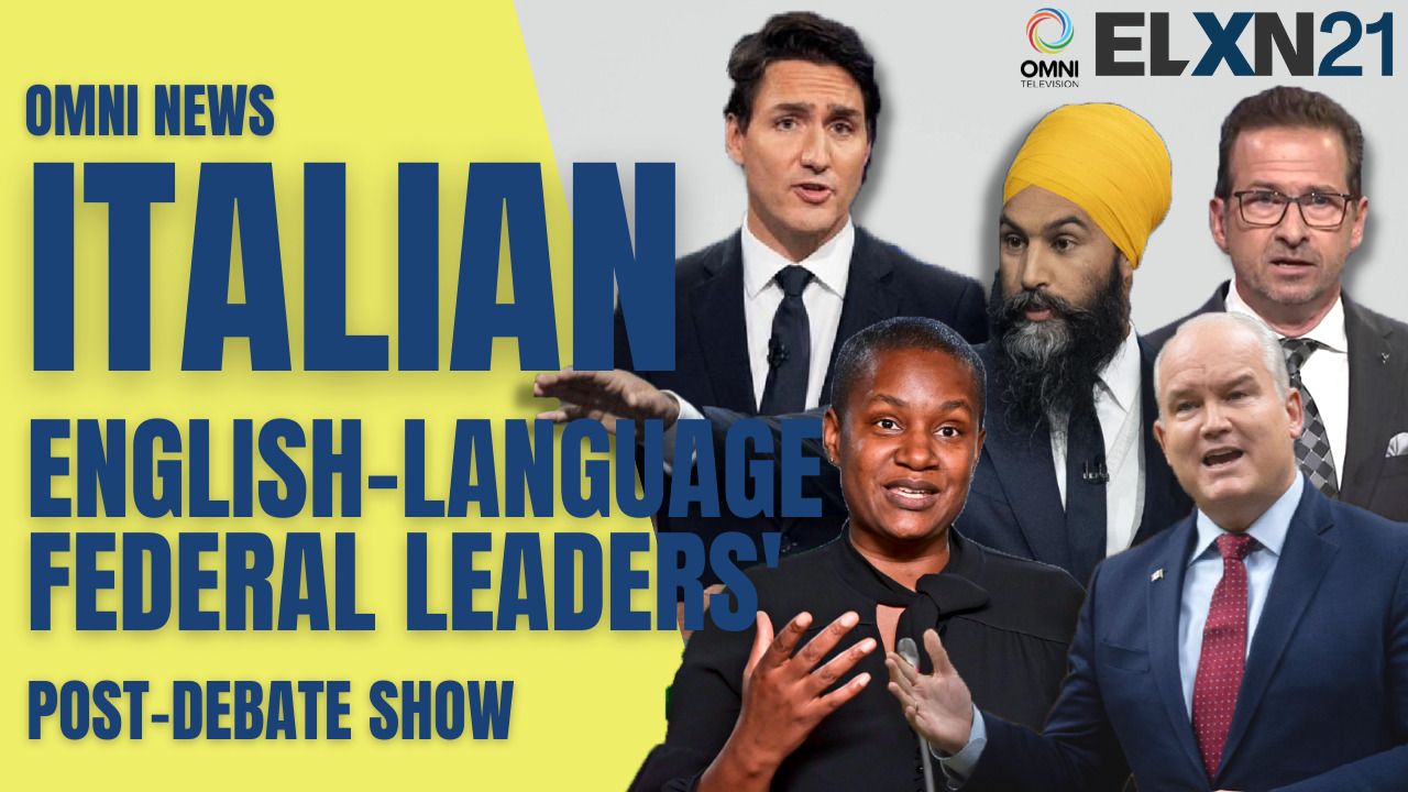Federal leaders English post-debate show | OMNI News Italian