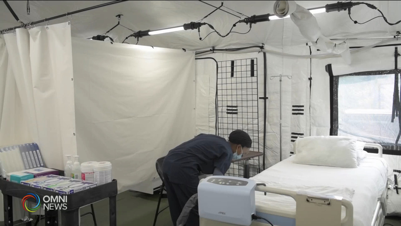 新寧醫院臨時病房 本週正式啟用 — Apr 20, 2021 (ON)