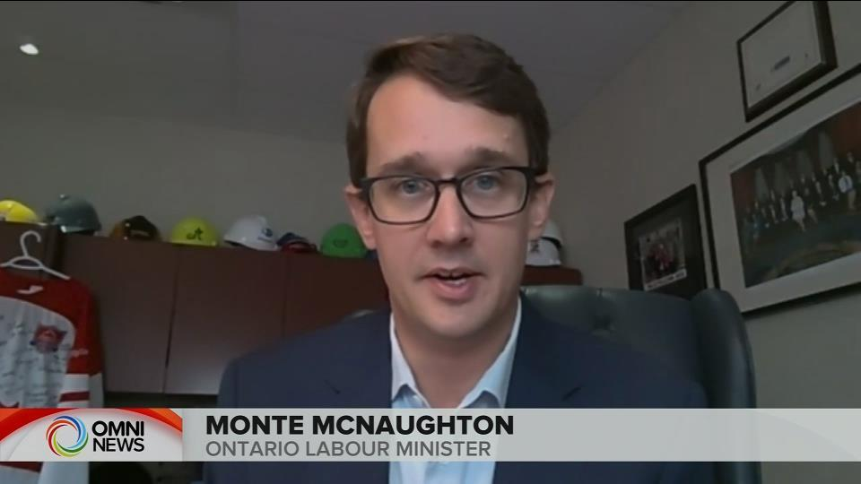 MINISTER MCNAUGHTON INTERVIEW