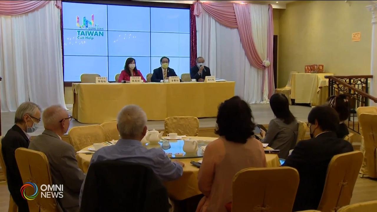 本地台侨呼吁支持中华民国台湾加入联合国- Sep 16, 2021 (ON)