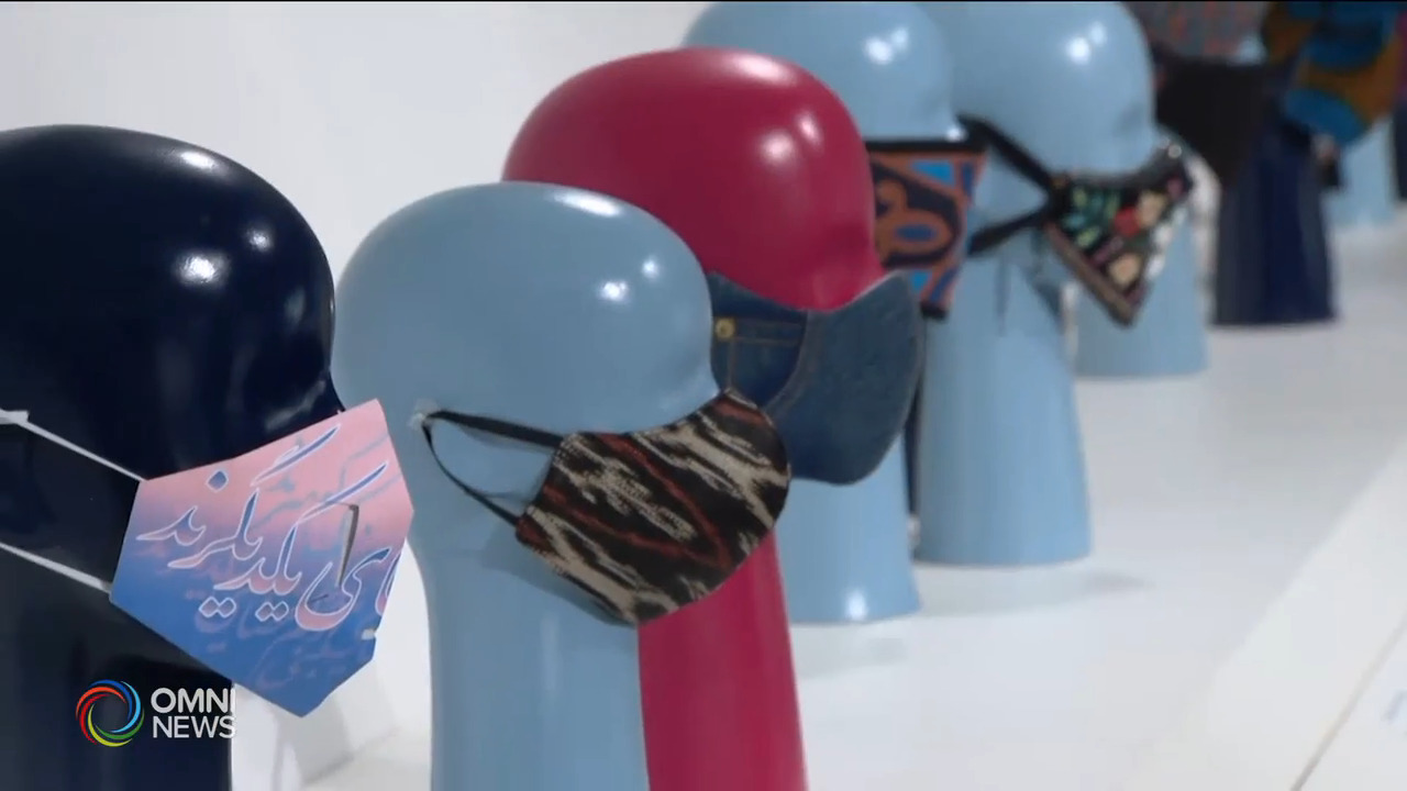 ROM口罩展覽 展示抗疫故事 — Sep 17, 2021 (ON)