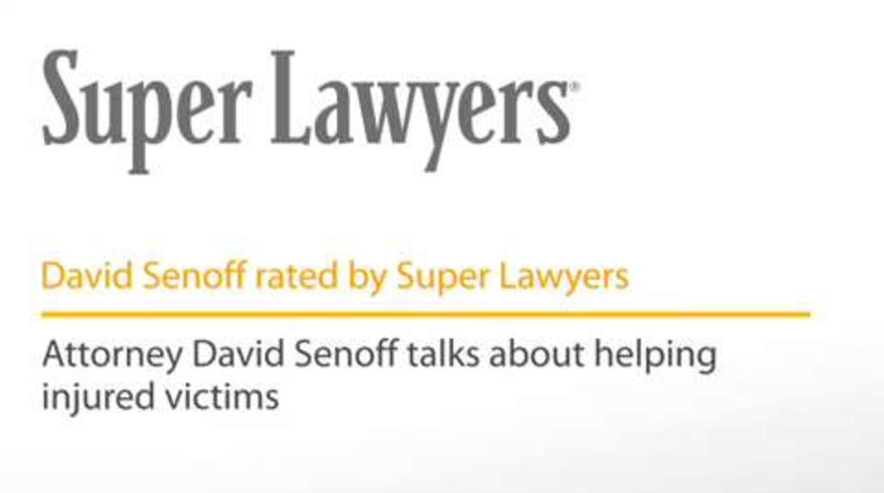 David Senoff, Philadelphia Medical Malpractice Attorney