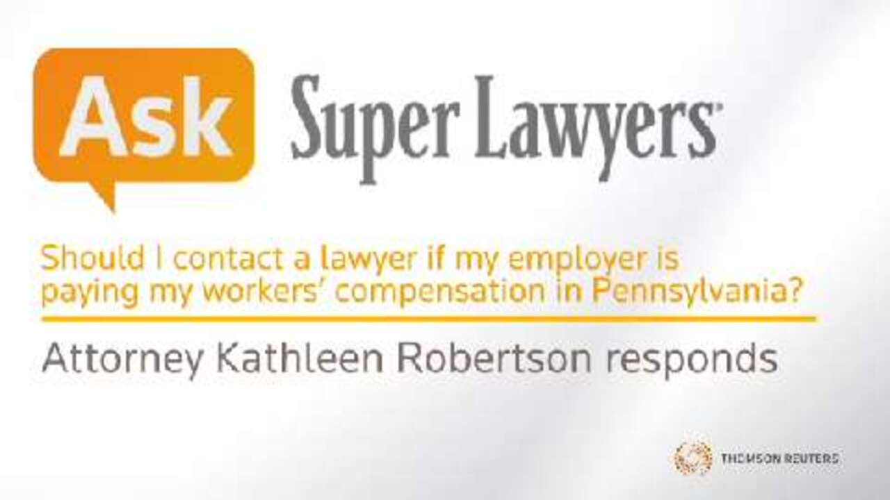 Do I need a lawyer if employer is paying my workers' comp?