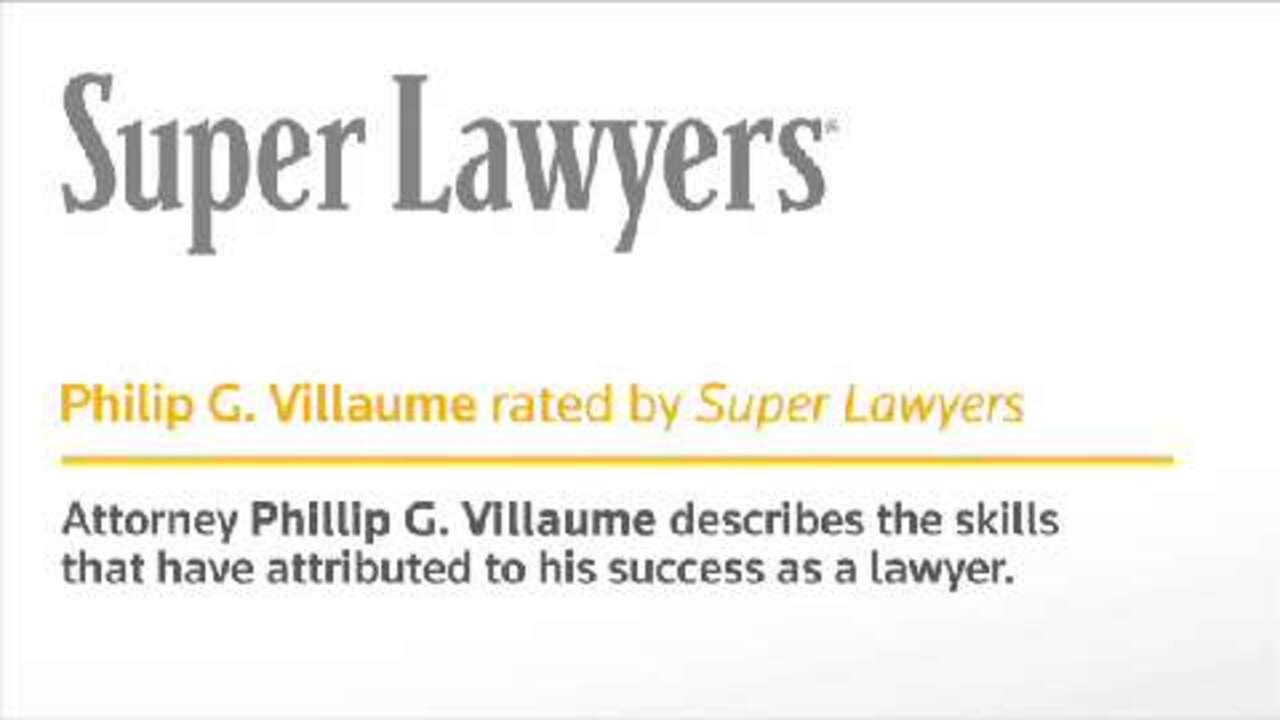 Philip Villaume, Minnesota Attorney- Super Lawyers