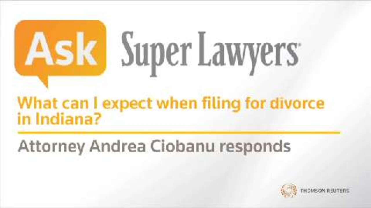 Andrea Ciobanu, Indiana Divorce Attorney- Super Lawyers
