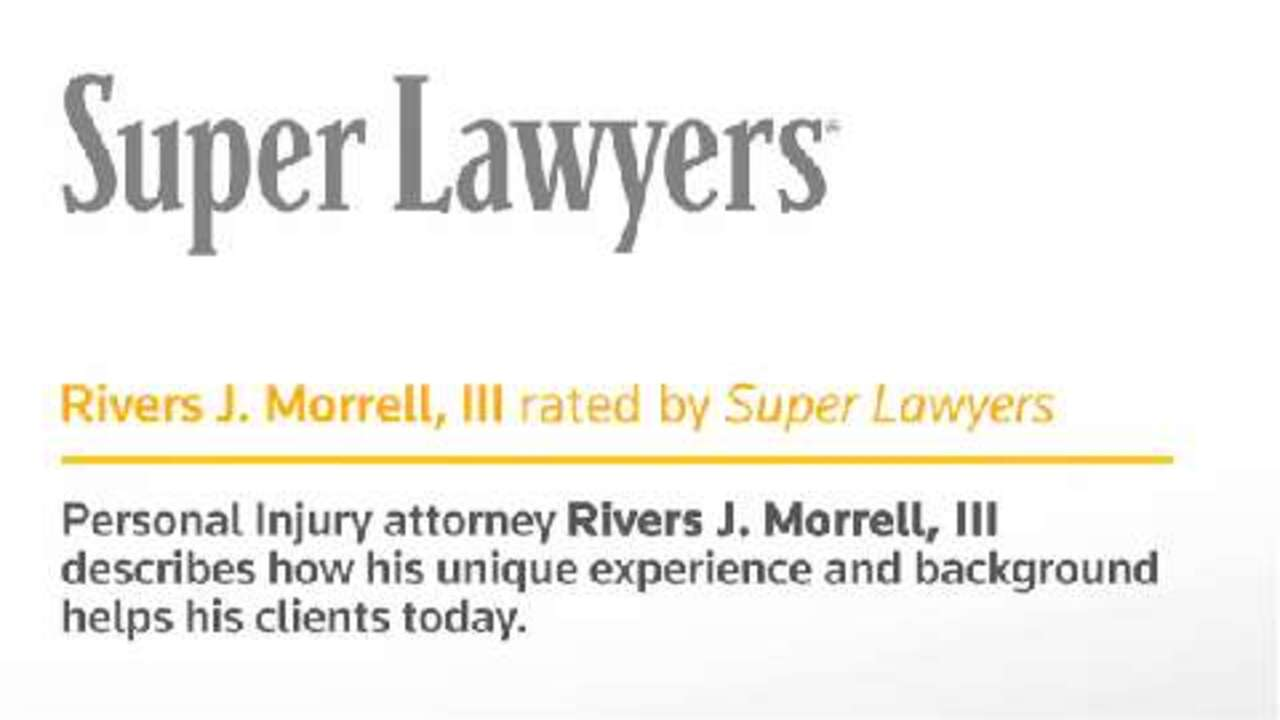 Rivers Morrell, III - Mission Viejo Personal Injury Lawyer