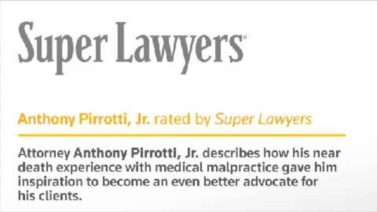 Anthony Pirrotti, New York Medical Malpractice Attorney