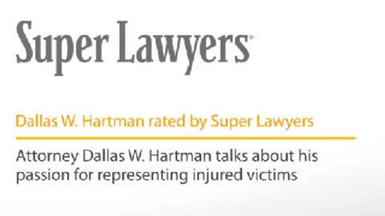Dallas Hartman, Pittsburgh Injury & Accident Attorney