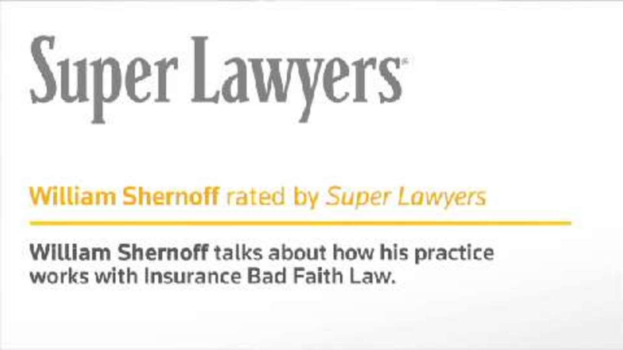 Shernoff Bidart Echeverria Bentley LLP- CA Super Lawyers