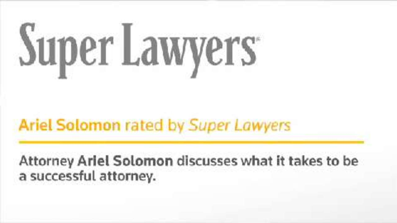 Ariel Solomon, Federal Employment Attorney- NY Super Lawyers