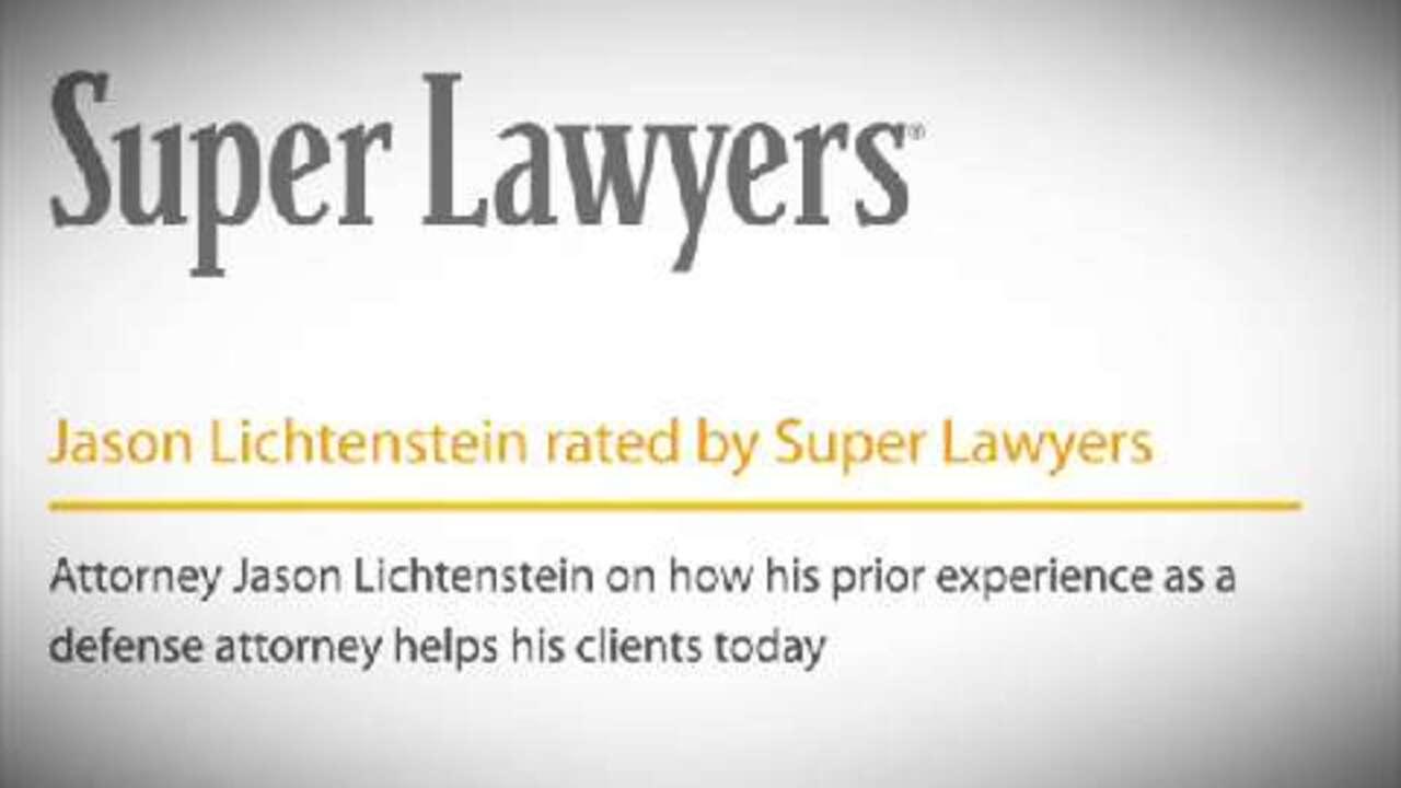 Jason Lichtenstein, Pittsburgh Auto Accident Attorney